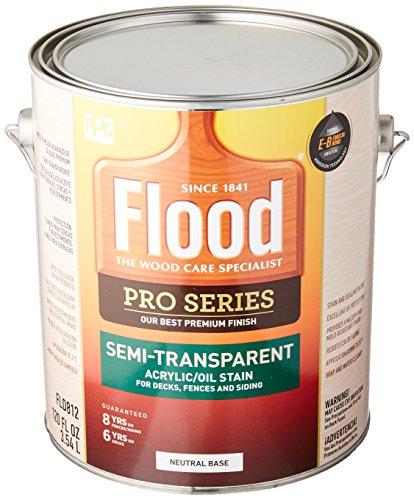 Flood/PPG Architectural FIN FLD812-01 Pro NTRL Base Stain, 1 Gallon