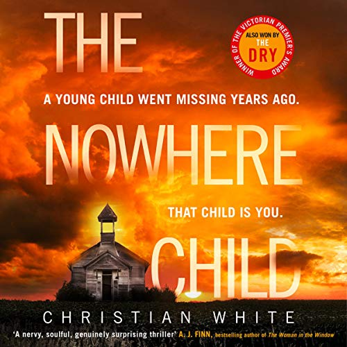 The Nowhere Child audiobook cover art
