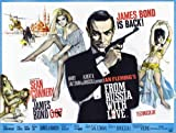 Poster 70 x 50 cm  James Bond 007 - Liebesgrüße