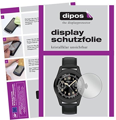 dipos I 6X Schutzfolie klar kompatibel mit Montblanc Summit Folie Bildschirmschutzfolie