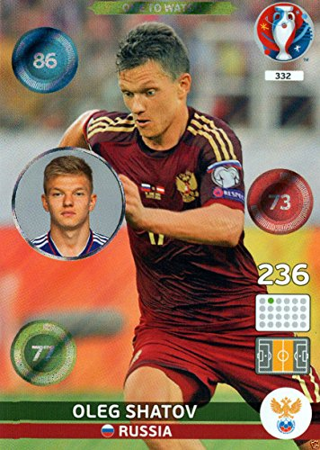 Panini Adrenalyn XL UEFA Euro 2016 Oleg Shatov One To Watch