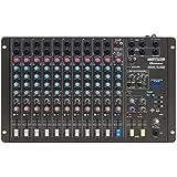 Mesa De Som Mixer 12 Canais Com Entrada Usb Amw-12 Esd Wattsom