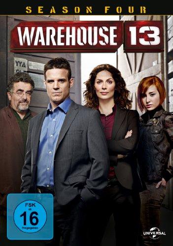 Warehouse 13 - Season 4 (5 DVDs)