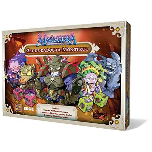 Dungeons von Arcadia–Würfel-Set Monster (Edge Entertainment edgmmr003)