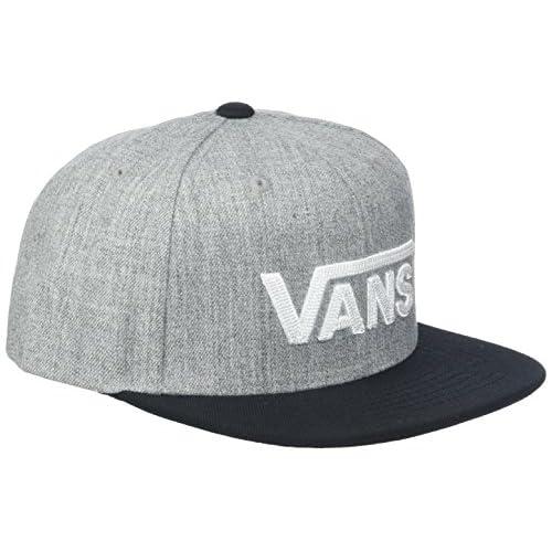 Vans Drop V II Snapback Cappellopello, Grigio (Heather Grey-Black Hgb), Taglia Unica Bambino