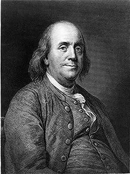 Benjamin Franklin Photograph - Historical Artwork from 1868 -  11  x 14   - Semi-Gloss