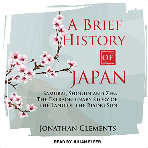 A Brief History of Japan audiobook cover art