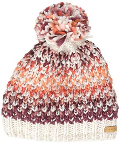 Barts Damen Nicole Beanie Baskenmütze, Pink (Maroon 0025), One Size (Herstellergröße: Uni)