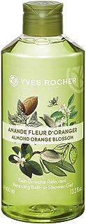 Yves Rocher Les Plaisirs Nature Relaxing Bath & Shower Gel - Almond Orange Blossom (13.5 fl.oz.)
