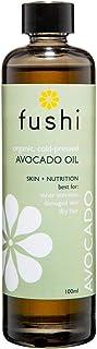 Fushi Organic Avocado Oil 100ml | Virgin & Fresh-Pressed | Rich in Vitamin C, A, B6, Magnesium, Lecithin and Potassium | F...