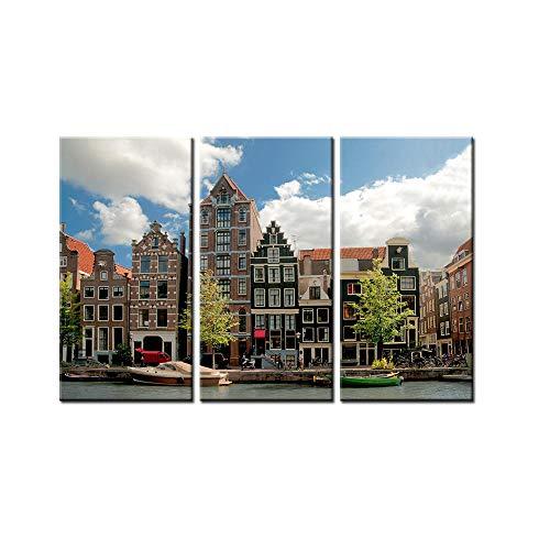 Search 3 stuks geen frame drop verzending hoge gebouwen landschap poster muur foto voor woonkamer-1