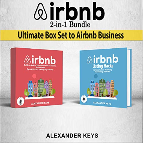 AIRBNB 2-in-1 Bundle Ultimate Box Set to Airbnb Business audiobook cover art