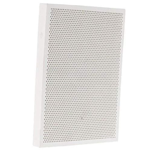 Deflector térmico de ladrillo refractario resistente al horno para la soldadura de metales en forma de panal de cerámica