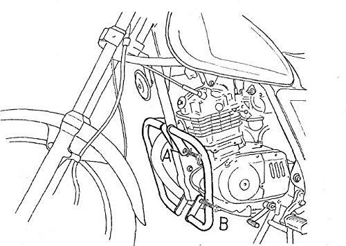 HEPCO & BECKER Motorschutzbügel GN 125