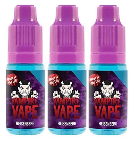 Vampire Vape E-Liquid 3x10ml - Heisenberg - ohne Nikotin