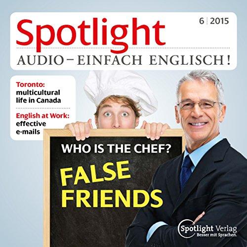 Spotlight Audio - Who is the chef? 06/2015 Titelbild
