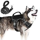 Tactical Dog Harness No Pull, KROMEN Dog...