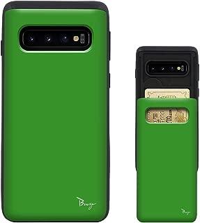 Galaxy Note9 ケース SC-01L SCV40 TPU バンパー Bumper 耐衝撃 カード入れ マット加工 ワイヤレス充電対応 スマホケース 擦り傷防止 保護フィルム Breeze 3DP 正規品 [GNT9JP204DN]