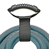 Extension Cord Holder Organizer(2 Pack) - 2in x 28in(Unfolded) Portable Heavy Duty Storage Strap for Extension Cord Within 300ft or Hose Within 100ft , with Carrying Handle for Carrying and Hanging