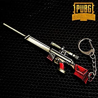 Vicney New Arrival PUBG Key Chain Gun Keychains For Men Dota Keyring Key Ring For Boyfriend Gift AK47 CSGO Keychain