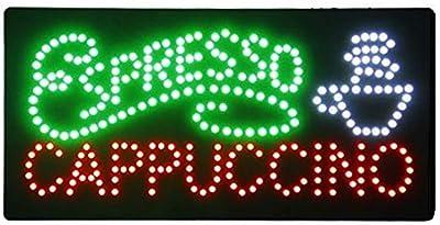 Letrero cartel Panel LED iluminacion negocio abierto open ...