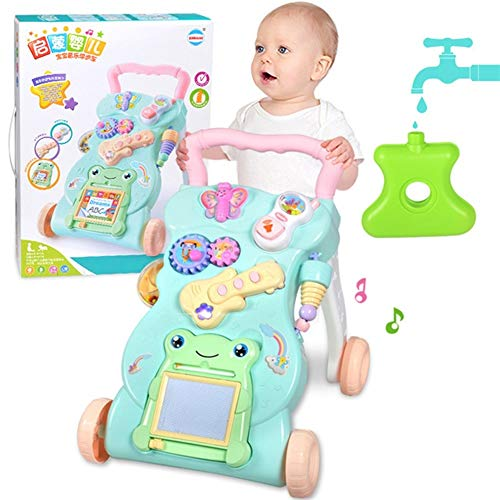 Check Out This DSAEFG Colorful Walker, Natural Baby Walker and Kids, Learning to Walk, with Lots of ...