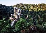 hansepuzzle 66817 Orte - Burg Eltz, 260 Teile in hochwertiger Kartonbox, Puzzle-Teile in wiederverschliessbarem Beutel.
