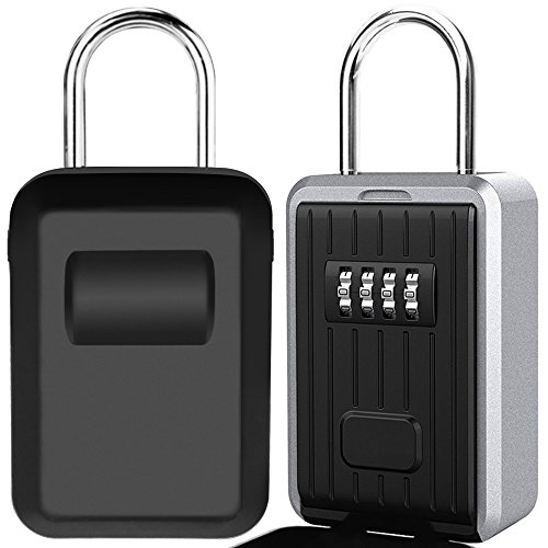 Caja de Seguridad para Llaves, Montaje en Pared Candado Caja Llaves Co