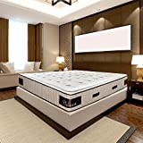 Olympe Literie | Conjunto de colchón Pandore con somier de madera | 160 x 200 cm