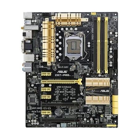 Asus Z87 Pro Motherboard Socket 1150 Computers Accessories