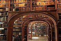 ERZAN1000ピース木製パズルヴィンテージアンティーク本の図書館読書室棚創造的なギフト1000ピース ジグソーパズル
