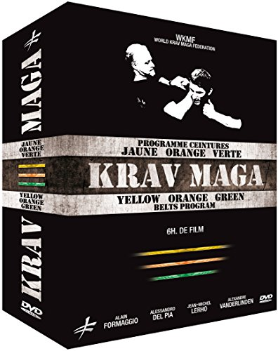 Coffret Krav Maga-Programme Ceinture Jaune, Orange & Verte