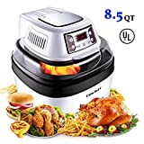 DmofwHi Large Air Fryer Toaster Oven XL/8QT, 1000 Watt Programable Air Fryer with 6 Presets and Rich...