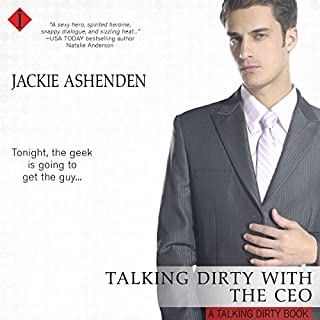 Talking Dirty with the CEO audiobook cover art