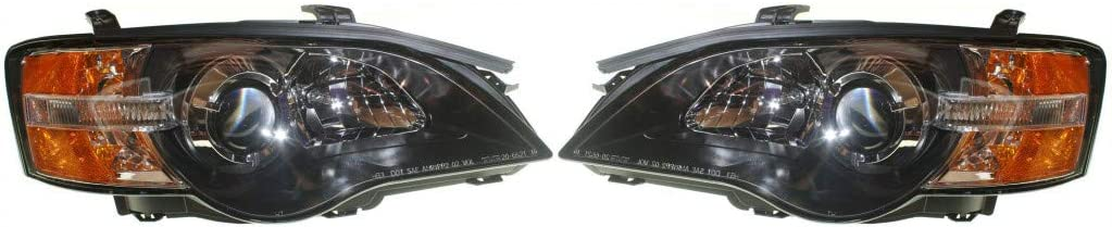 For Subaru Legacy Max 81% OFF Headlight shop Assembly Pair Driver 2005 Passen and