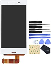 VEKIR Touch Display Digitizer Screen Replacement for Sony Xperia X Compact F5321(White)