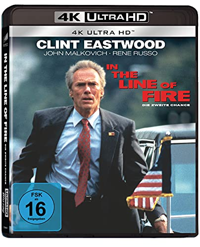 In The Line Of Fire - Die zweite Chance (4K Ultra HD) [Blu-ray]