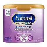 Enfamil NeuroPro Gentlease Baby Formula Gentle Milk Powder Reusable Tub, 19.5oz.- MFGM, Omega 3 DHA,...