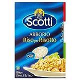 Riso Scotti Arborio 500 G De Arroz Risotto (Paquete de 4)