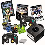 Nintendo GameCube Console - Jet Black with 3 Games