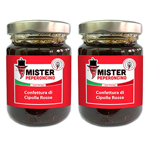 Cipolle Rosse (100 gr x 2) - Confettura - Mister Peperoncino