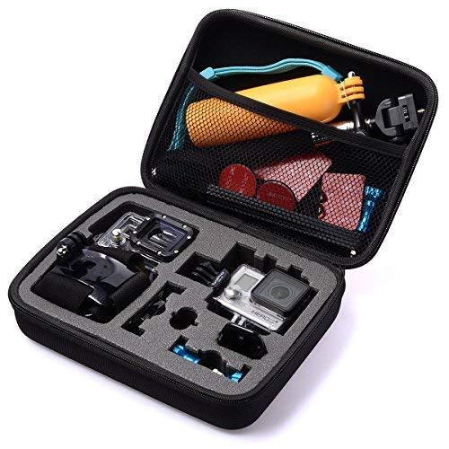 Madridgadgetstore Tasche für Kamerazubehör, stoßfestes EVA-Material, für Gopro Hd Hero4 / Hero3+ / Hero3 / Hero2 / Hero 4 Session, Sjcam Sj4000 / Sj5000 / Sj6000, Actionpro X7, Xiaomi Yi Actionkamera