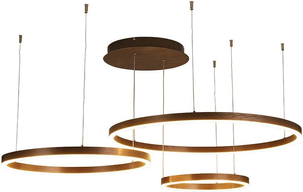Kuandar chandelier,lampadario led ad anello,moderno ed elegante,con telecomando RYYABC192