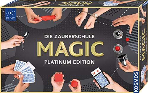 KOSMOS 697082 Die Zauberschule MAGIC Platinum Edition, Zauberkasten