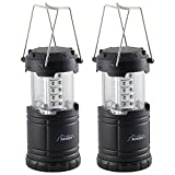 2 x Andes LED Collapsible Camping Tent Light Portable Fishing Lantern Lamp