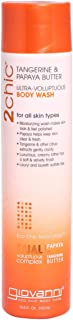 Giovanni 2chic Body Wash with Tangerine and Papaya Butter, 310 ml