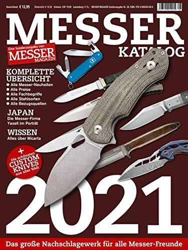 MESSER KATALOG 2021: Eine Sonderausgabe von MESSER MAGAZIN