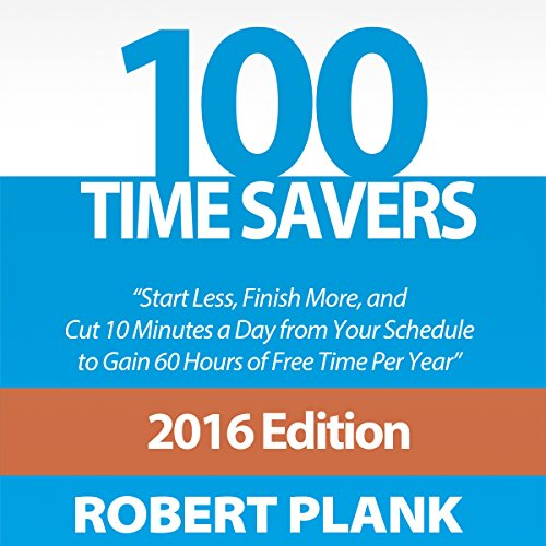 100 Time Savers audiobook cover art