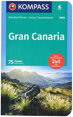 KOMPASS Wanderführer Gran Canaria: Wanderführer mit Extra-Tourenkarte 1:50000, 75 Touren, GPX-Daten zum Download.