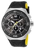 Technomarine Men's Manta Stainless Steel Quartz Watch with Silicone Strap, Two Tone, 27 (Model: TM-215068)